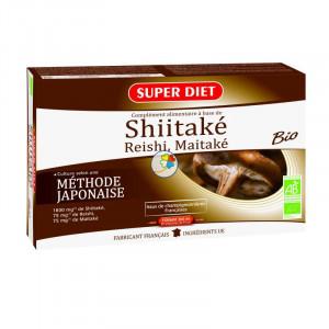 SHIITAKE-MAITAKE-REISHI BIO 20 AMPOLLAS SUPERDIET