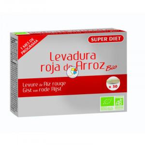 LEVADURA DE ARROZ ROJO 60 CAPSULAS SUPER DIET