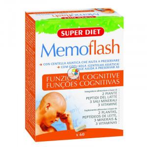 MEMOFLASH 60 CAPSULAS SUPER DIET