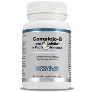 B-COMPLEJO C/METAFOLIN+FACTOR INTRINSECO(60 CAPS. VEG.) DOUGLAS