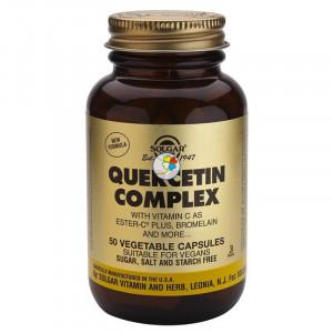 QUERCITINA COMPLEX 50 CAPSULAS VEGETALES SOLGAR