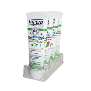 DENTIFRICO MENTA FLUOR BASIS SENSITIV 75Ml. LAVERA