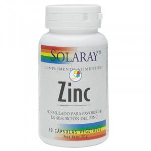 ZINC 50Mg. 60 CAPSULAS VEGETALES