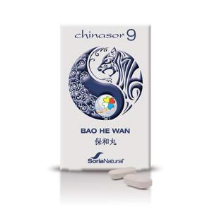 CHINASOR 09 BAO HE WAN 30 COMPRIMIDOS SORIA NATURAL