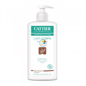 LECHE CORPORAL SUAVIZANTE 500Ml. CATTIER PARIS